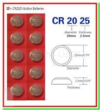 10 Batterie Pile PANASONIC CR2025 KECR BR 2025 280-205 L12 SB-T14 LF-1/2V 5003L