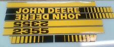 John Deere 2355 Hood Decals
