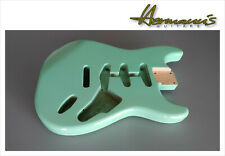 Stratocaster Erle Replacement Body, Alder Body, Finish High Gloss Sea Foam Green