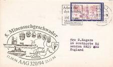 Germany 1994 5th Minesweeper Squadron Postcard Unused VGC