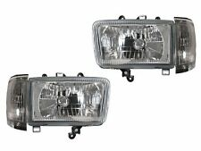 ***DEPO Crystal Chrome Headlights + Corner Lights For 1992-1995 Toyota 4Runner
