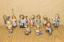 Lot of 11 1997 and 1 1999 Goebel Berta Hummel Figurine Christmas Ornament