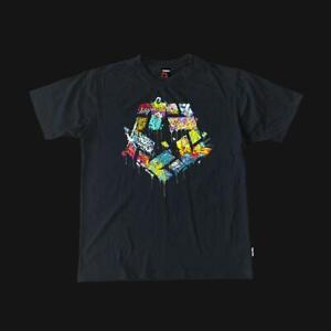 Tribal Gear Graffiti T-Star Shirt - Black