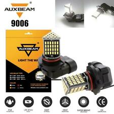 AUXBEAM Pair 9005 LED Fog Light Bulb Driving DRL 9145 9140 CSP 6000K HID White