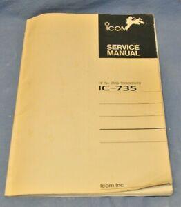 Icom IC-735 Transceiver Service Manual
