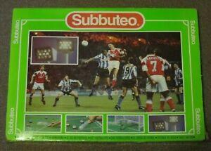 Subbuteo Box Set. Circa 1990/s Arsenal Sheffield Weds. Orange & Blue teams,