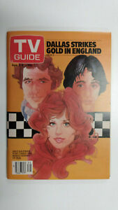 TV GUIDE Canada Cast of TAXI           Vol 4 #31 - August 2 1980 - Issue No. 188
