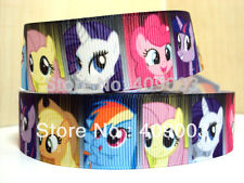 """My Little Pony Ribbon 7/8"""" vasta 1m è solo £ 0.99 Nuovo Venditore Regno Unito"""