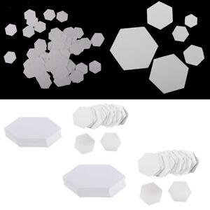 200 Stück Hexagon Englisch Papier Stückung Steppvorlagen Schablonen