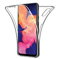 SDTEK Coque pour Samsung Galaxy A10 Silicone 360 Degres Protection