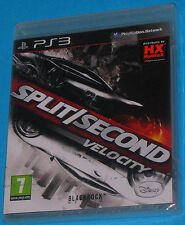 Split / Second Velocity - Sony Playstation 3 PS3 - PAL New Nuovo Sealed