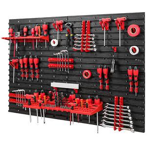 Werkzeugwand 1152 x 780 mm Set 38 Werkzeughaltern mit Lochwand Lagersystem