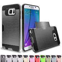 Hybrid Bumper Rubber Ultra Slim Protective Case Cover For Samsung Galaxy Note 5