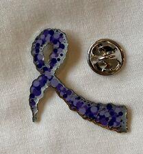 ***NEW*** Dravet Syndrome ribbon enamel keyring badge. Epilepsy Charity