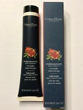 NEW CRABTREE & EVELYN POMEGRANATE ARGAN & GRAPESEED OVERNIGHT HAND THERAPY 2.6OZ