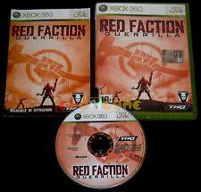 RED FACTION GUERRILLA XBOX 360 Versione Italiana 1ª Edizione ••••• COMPLETO