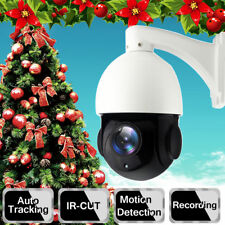 20X Zoom Security PTZ IP Camera 1080P Auto Tracking Pan Tilt Sony CMOS Outdoor