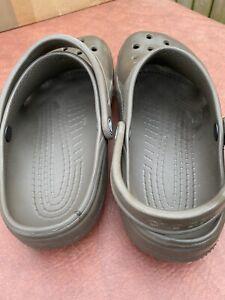 Men's Crocs Brown Size 12