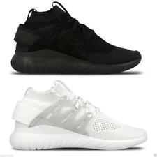 Adidas Men's Tubular Nova Primeknit Trainers Fitness Gym Active Black White