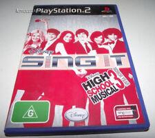 Sing It High School Musical 3 Senior Year PS2 PAL *Complete* Singstar