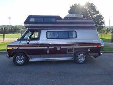 1987 Chevrolet G20 Embassy Camper Van Class B RV 82k Fully Self Contained Ready