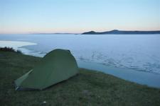 Vaude Hogan Ultralight Argon mountain tent 1-2 man, excellent used condition