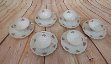 Seltmann Weiden Bavaria Theresia W.Germany Floral Tea Cups & Saucers Plates 2137