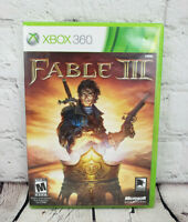 Fable 3 III (Microsoft Xbox 360, 2010) Video Game Complete
