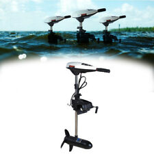 New 45LBS Thrust Electric Trolling Motor 480W 12V Fit Inflatable Fishing Boats