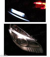 SCENIC II Jusqu'à 08/2006 Veilleuses Plaque 4 Ampoules LED Blanc Anti erreur ODB