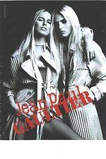 PUBLICITE ADVERTISING  2011 JEAN PAUL GAUTIER  haute couture nouvelle collection
