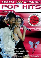 Sunfly Karaoke DVD Pop Hits Vol.2 (DVD) - DIRECT FROM SUNFLY