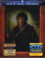 LO HOBBIT UN VIAGGIO INASPETTATO 3D EXTENDED EDITION COFANETTO 5 BLU RAY DISC