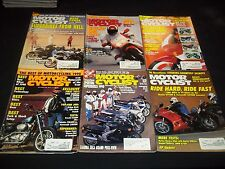 1990 MOTOR CYCLIST MAGAZINE LOT OF 11 ISSUES - GREAT BIKES NICE COVERS - M 239