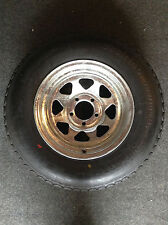 "14"" Spare Wheel, Galvanised, New Tyre/Rim (Suits Boat, Box and Car Trailer)"