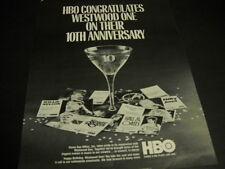 Westwood One 1984 Promo Ad Olivia Newton-John Fleetwood Mac Billy Joel others
