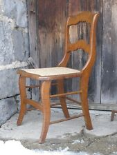 Elegant Tiger & Bullseye Maple Cottage Side Chair NEW CANE SEAT Bedroom