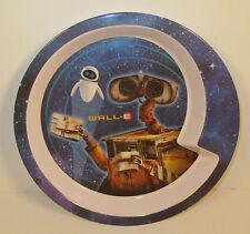 "8"" Walle Wall-E Disney Pixar Round Kids Melamine Dinner Plate by Zak Designs"