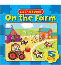 Jigsaw Books - On the Farm: 5 Jigsaw Puzzles (Jigsaw Boards), Igloo Books Ltd |