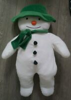 "The Snowman extra large Plush Soft Toy 29"" 71 CM!  RARE Teddy Christmas 2009"