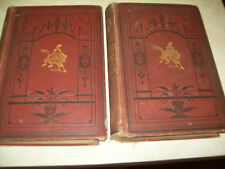 THE WORKS OF CHARLES LEVER VOL I & VOL II 1882