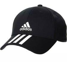 Cappellino Adidas 3-Stripes unisex Uomo Donna Bball Black regolabile