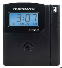 Pyramid TimeTrax EZ TTEZ Automated Swipe Card Time Clock System Serial Open Box