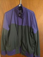 NIKE Sportswear Purple & Grey Zip-Up Track Jacket Mens  Size Medium