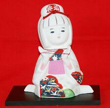 """Traditional Hakata doll of  Fukuoka-City""""Cat's cradle play"""" #1545"""