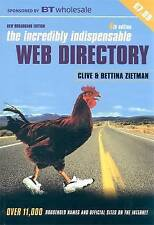 Incredibly Indispensable Web Directory, Zietman, Clive, New Book