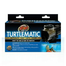 ZOO MED TURTLEMATIC AUTOMATIC DAILY TURTLE FEEDER - NEW TO MARKET