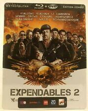 The Expendables 2 [ Unité Spéciale] SteelBook /Édition Limitée/Blu-ray +dvd  new