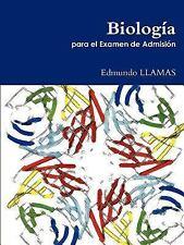 Biología para el Examen de Admisión by Edmundo Llamas (2011, Paperback)