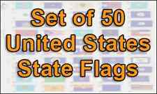 "Wholesale Lot of ALL 50 States 4""x6"" Desk Table Stick Flag"